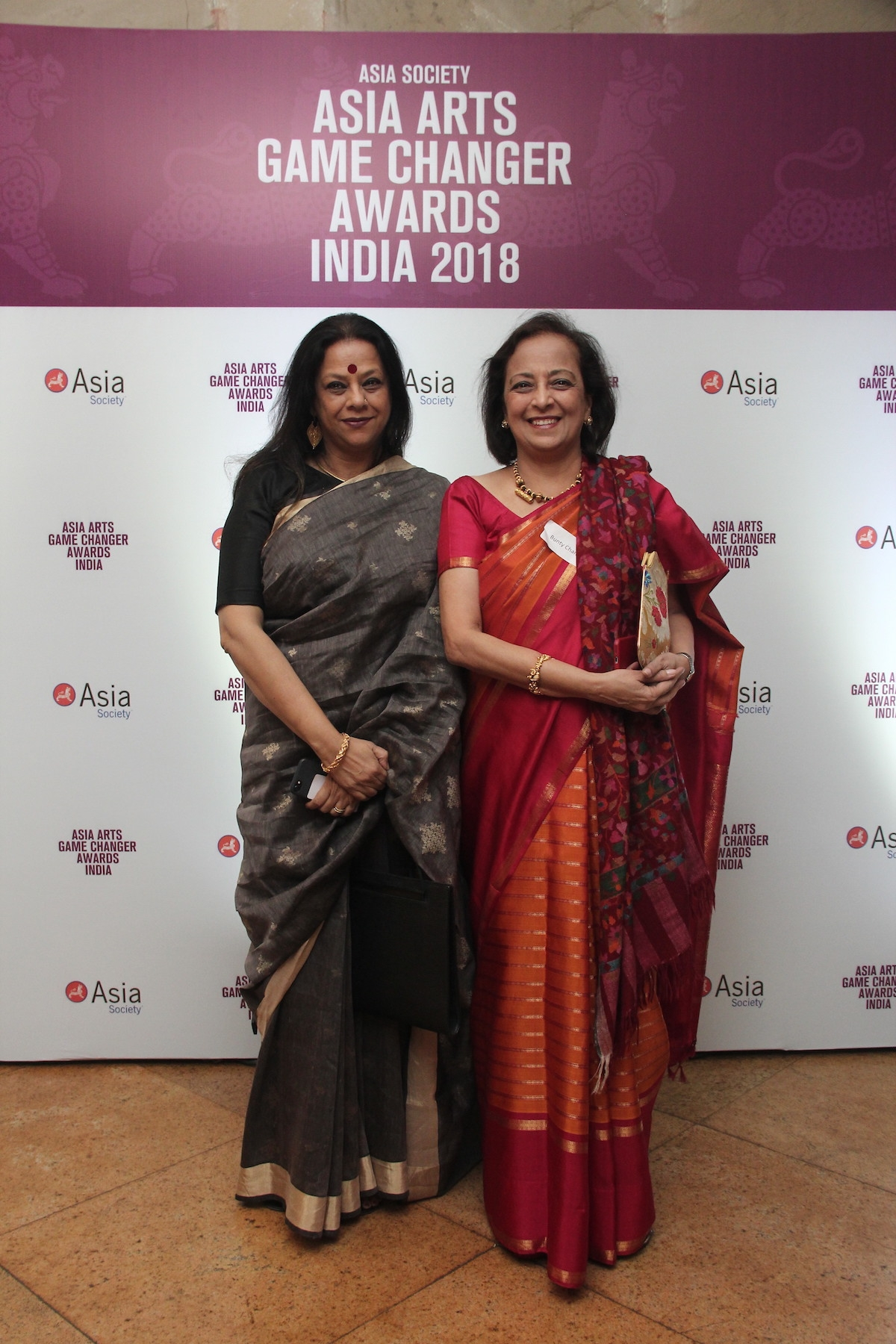 Ina Puri & Bunty Chand, CEO, Asia Society India Centre