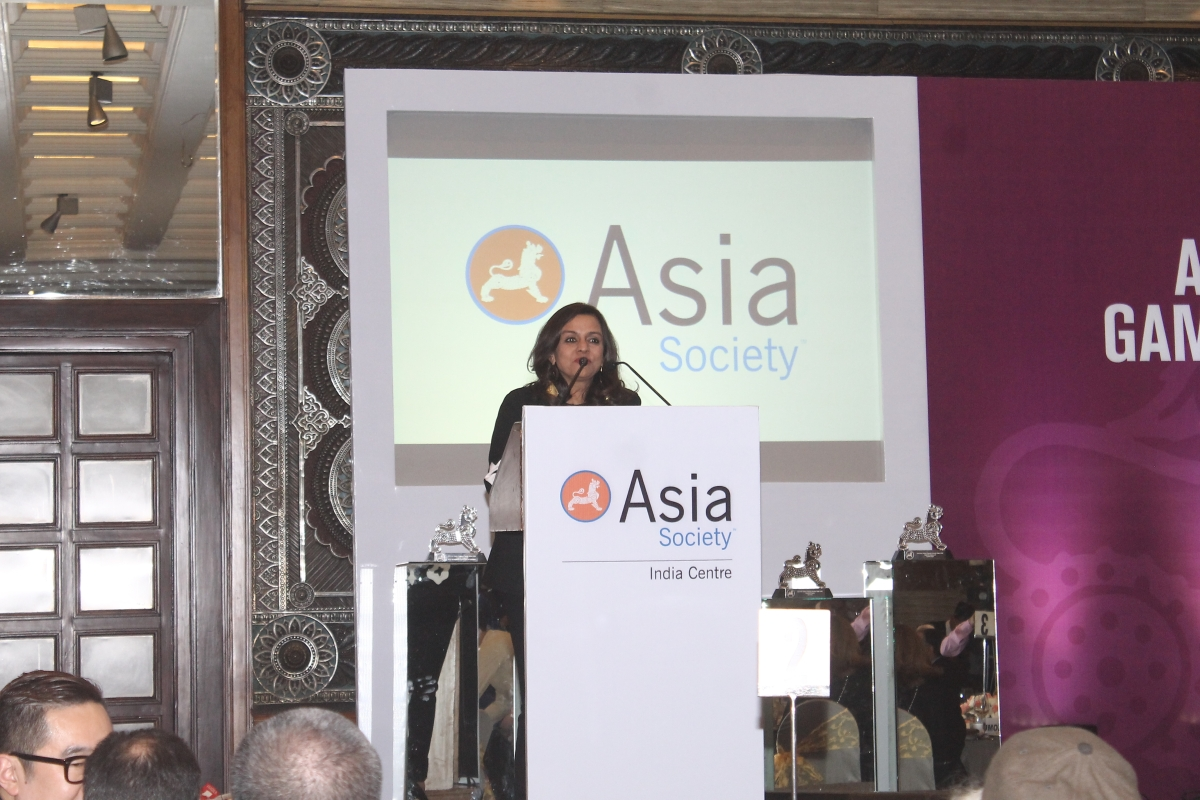 Sangita Jindal, Co-Chair of Asia Arts Game Changer Awards India