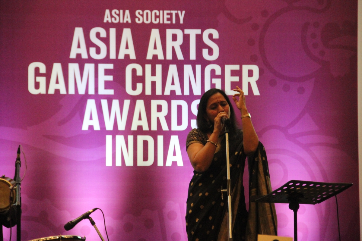 Vidya Shah's performance at the Asia Arts Game Changer Awards