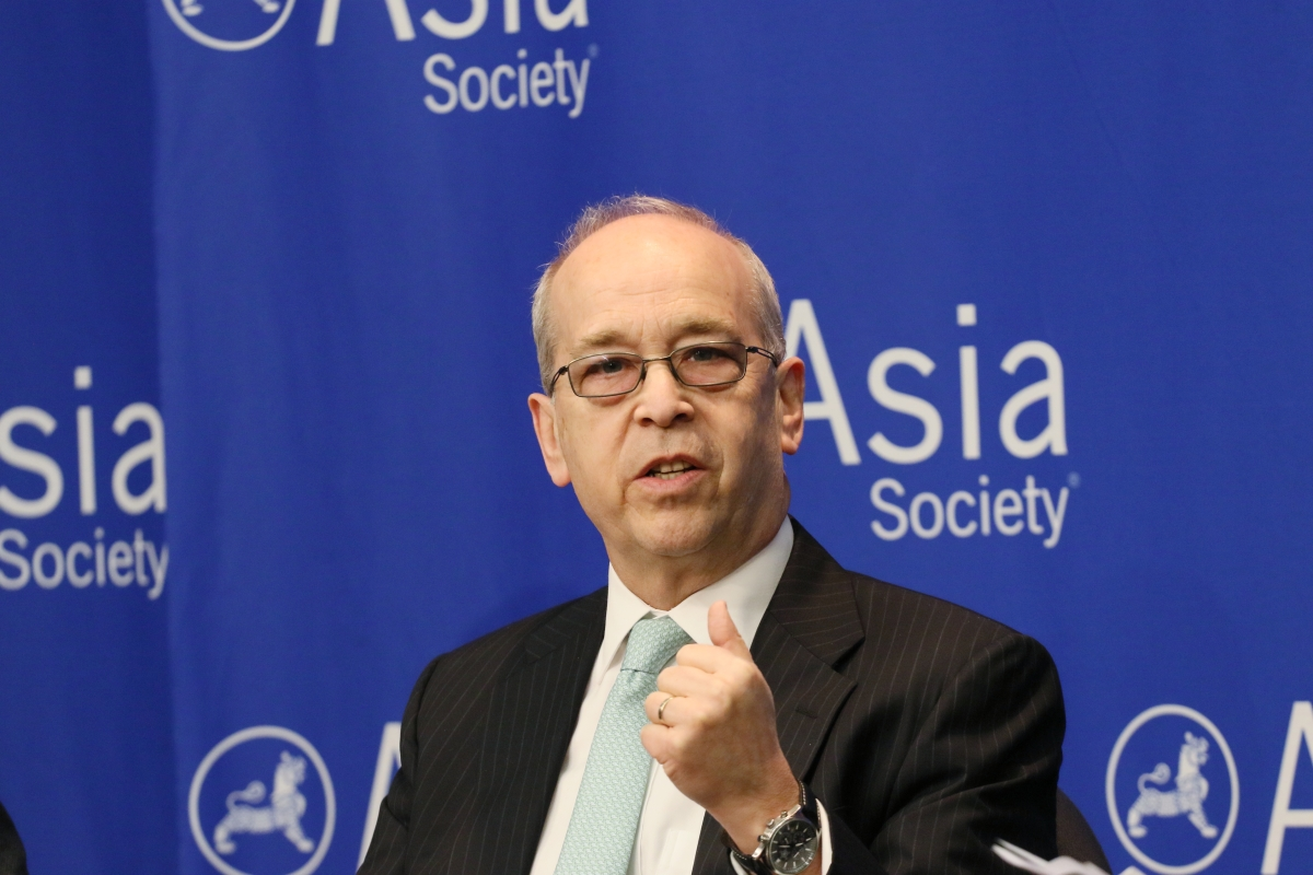 Danny Russel speaks at Asia Society