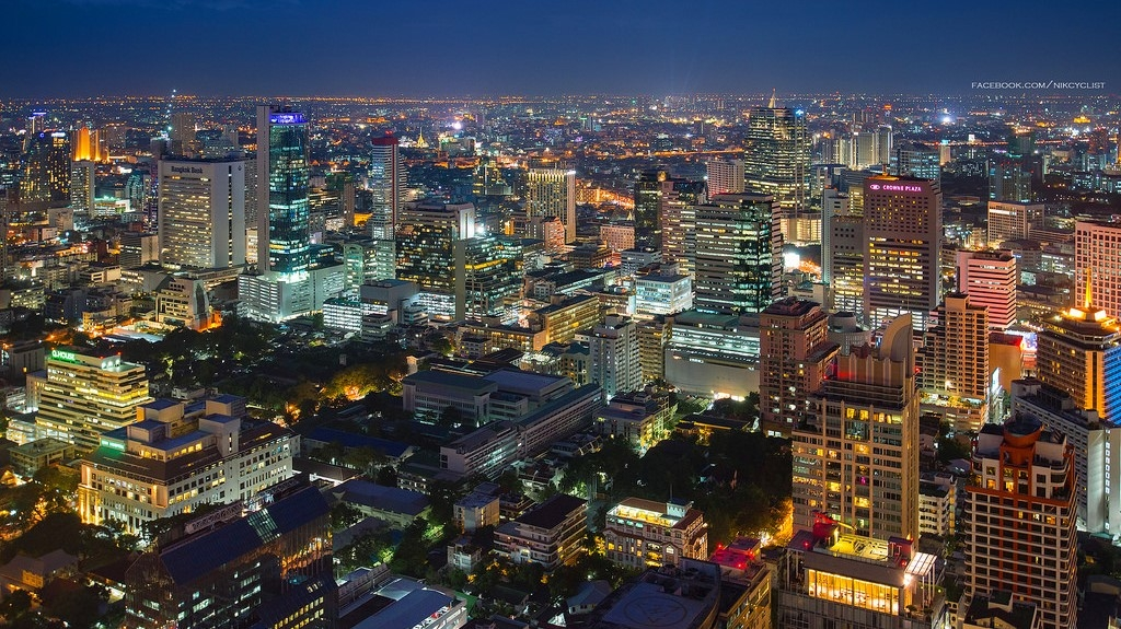 Bangkok's Central Business District