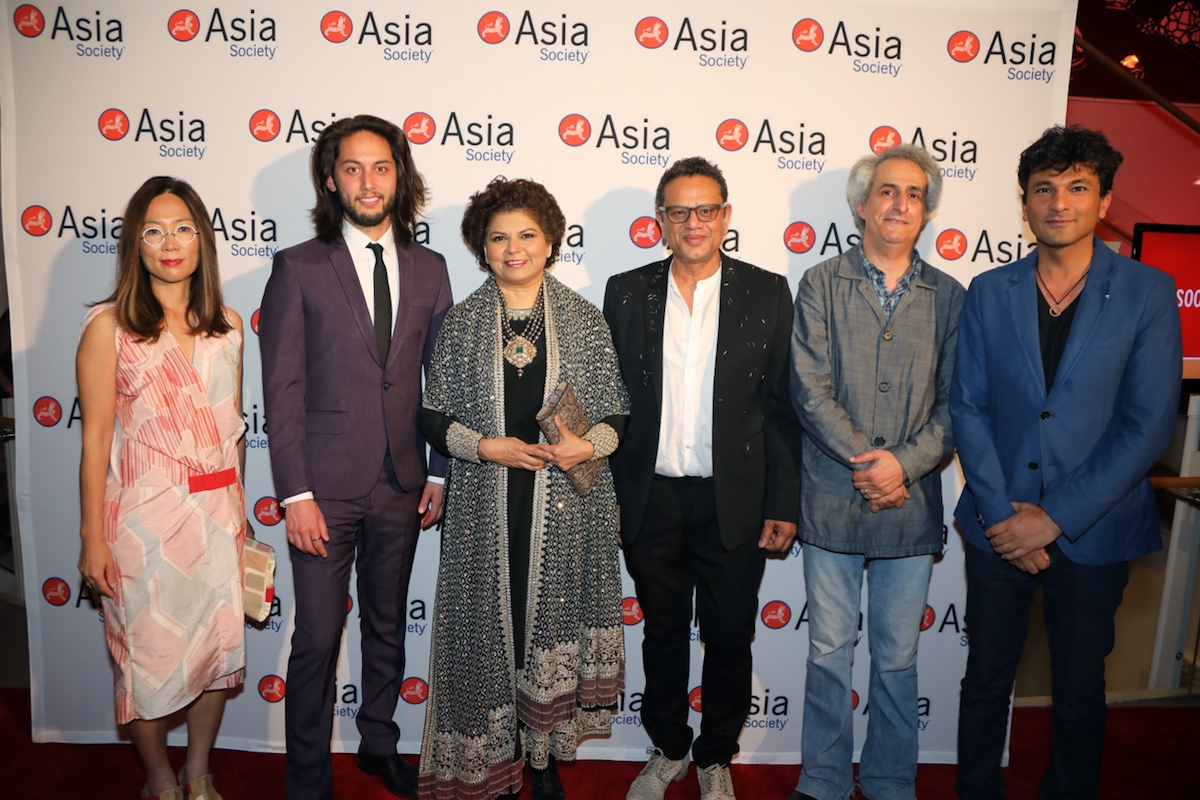 Asia Society honored guests attend the Asia in America Spring Party