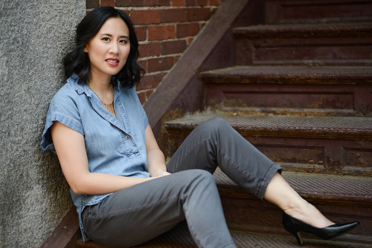 Celeste Ng by Kevin Day Photography