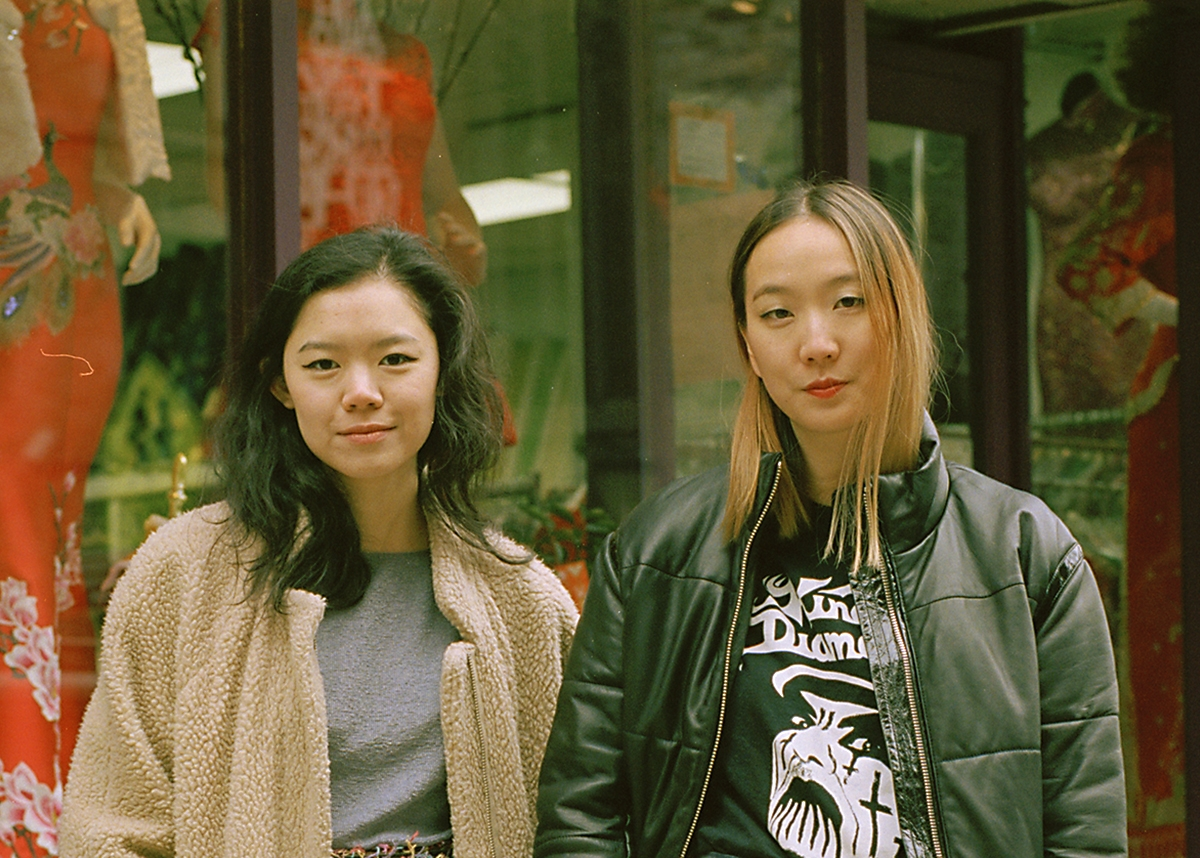 Kathleen Tso and Vicki Ho, editors of Banana Magazine