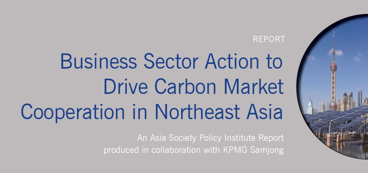 Business Sector Action for Carbon Market Cooperation Cover Banner