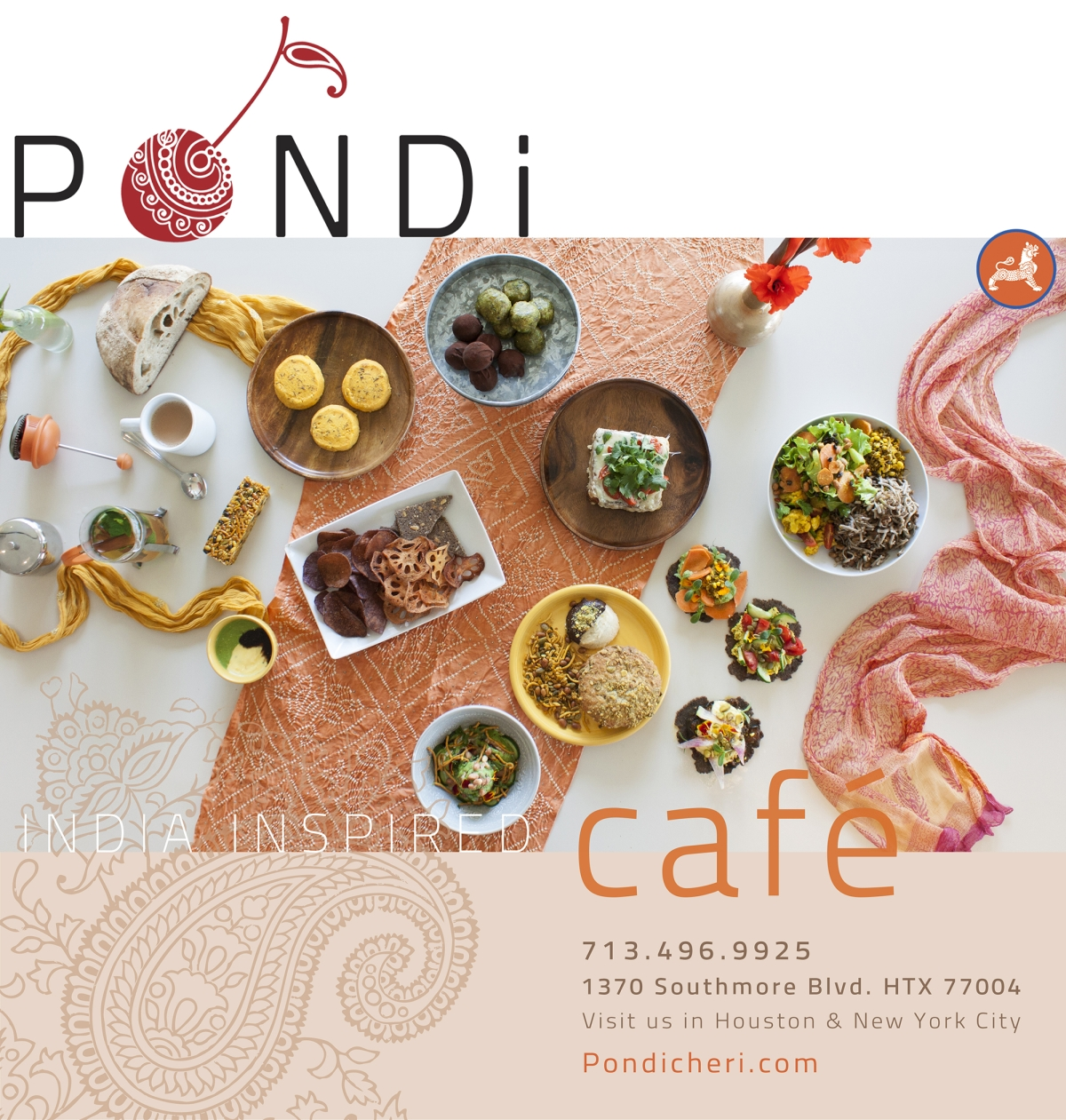 Pondi Cafe summer menu