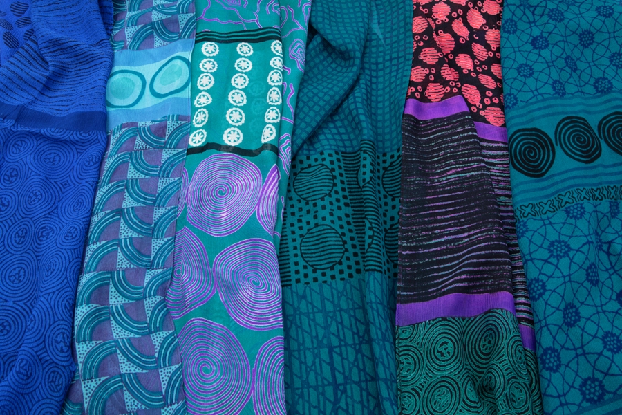 Silk Scarves by Harshita