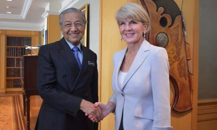 Asia Briefing 9 Mahathir and Bishop