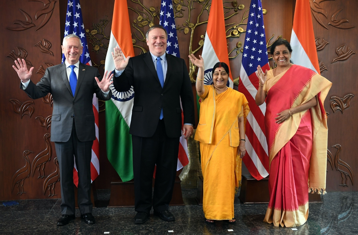 US envoys meet Indian ministers.