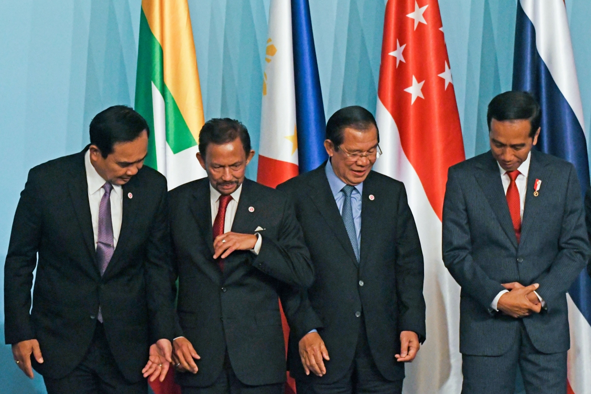 ASEAN heads of state.