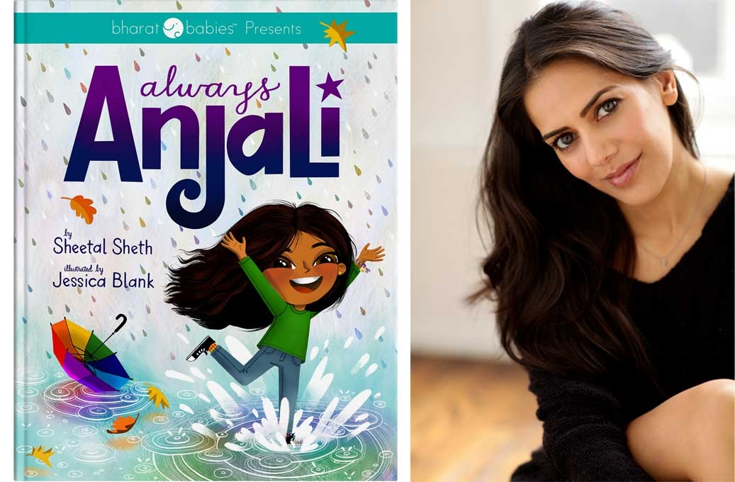 Author Sheetal Sheth and book Always Anjali