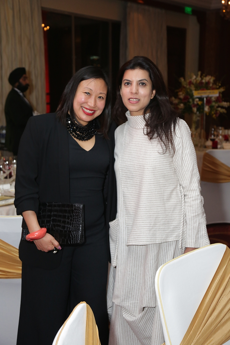 2019 02 01 AAGCA India Michelle Yun and Reena Saini Kallat