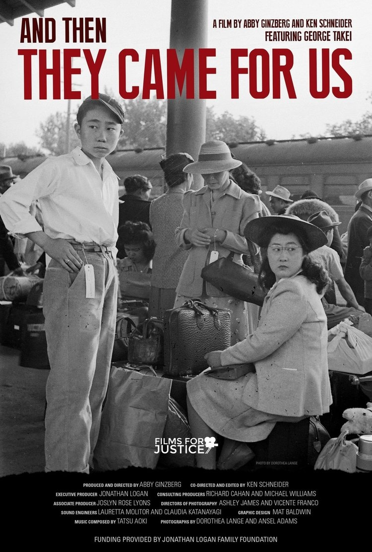 And Then They Came for Us poster