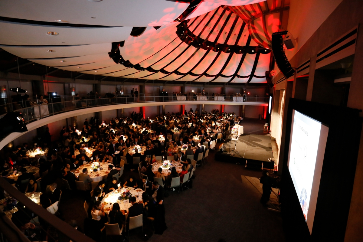 The scene at Asia Society Southern California's Annual Gala