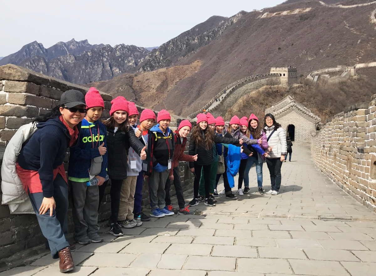 5th-grade learners in China (Sherry Lam)