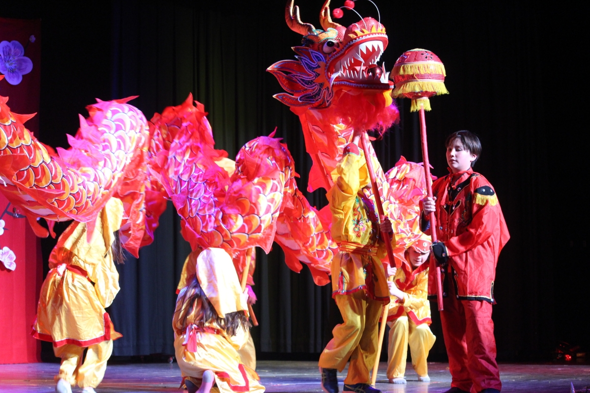 Chinese New Year Festival, Dragon Parade (Callyn Baum)
