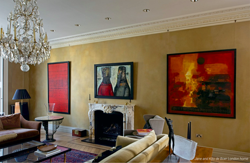 Jane and Kito de Boer's London home