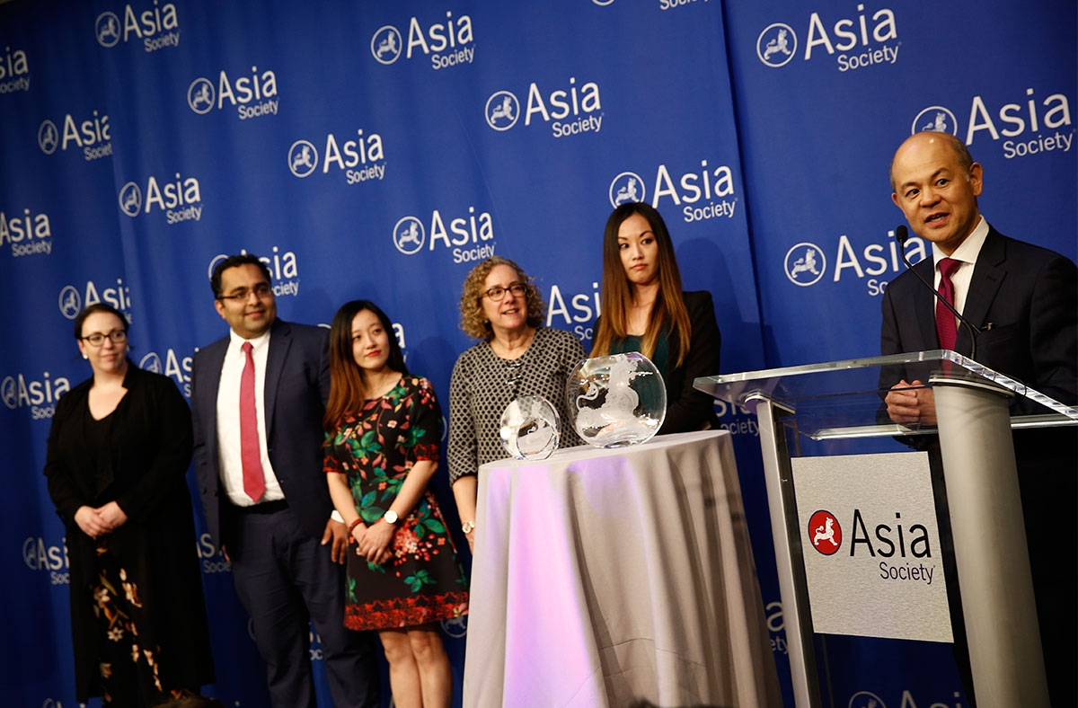 KPMG accepts Asia Society Award
