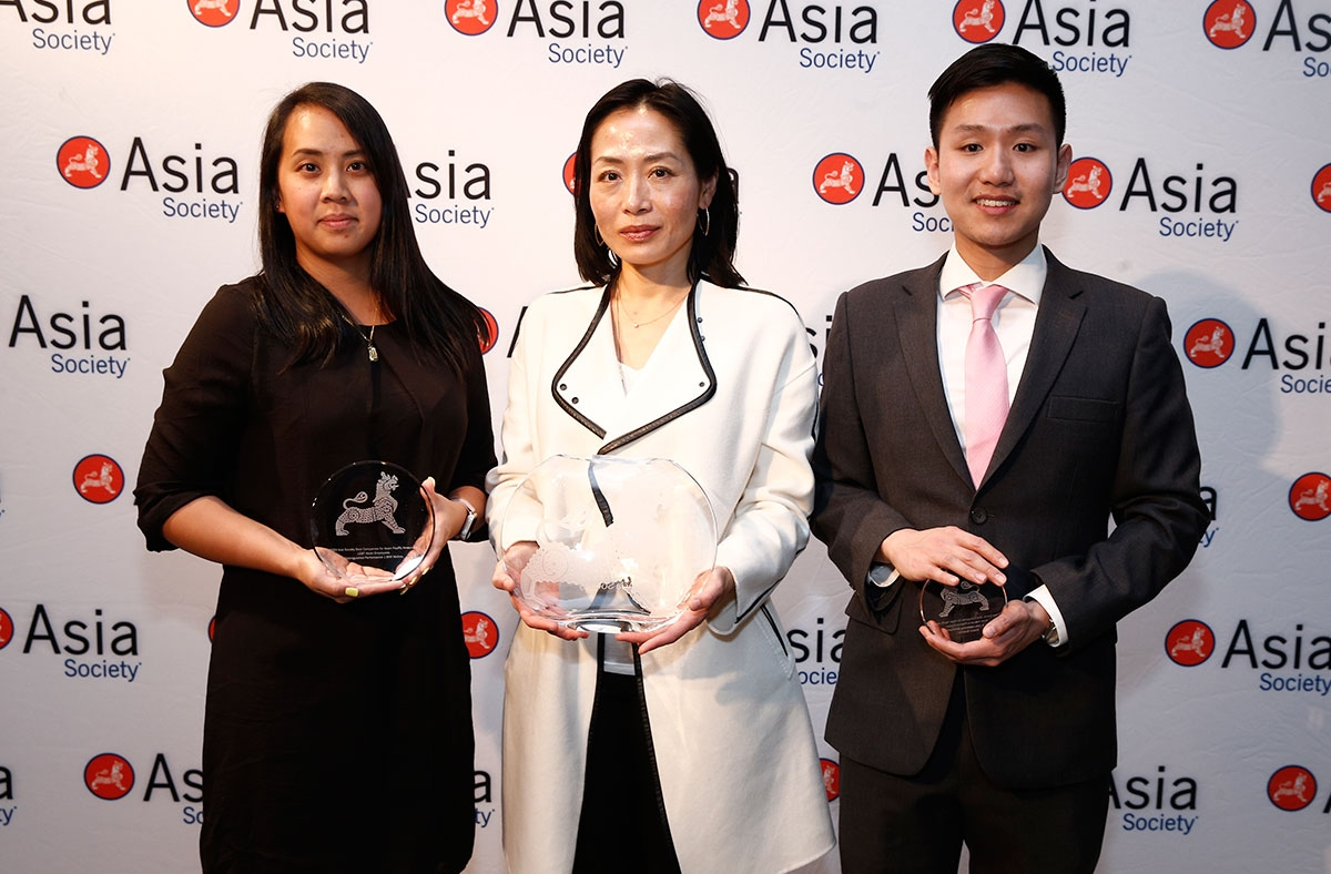 BNY Mellon Accepts Award at Asia Society