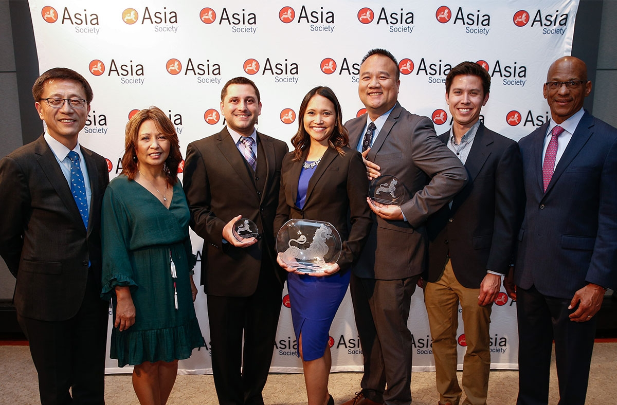 Chevron accepts Asia Society Award