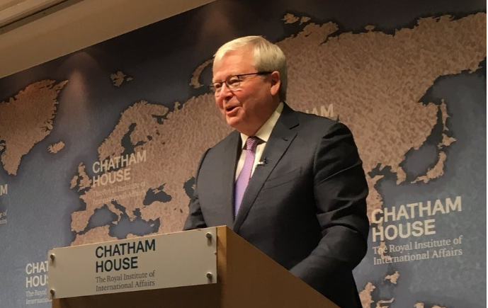Kevin Rudd Speech London Chatham House