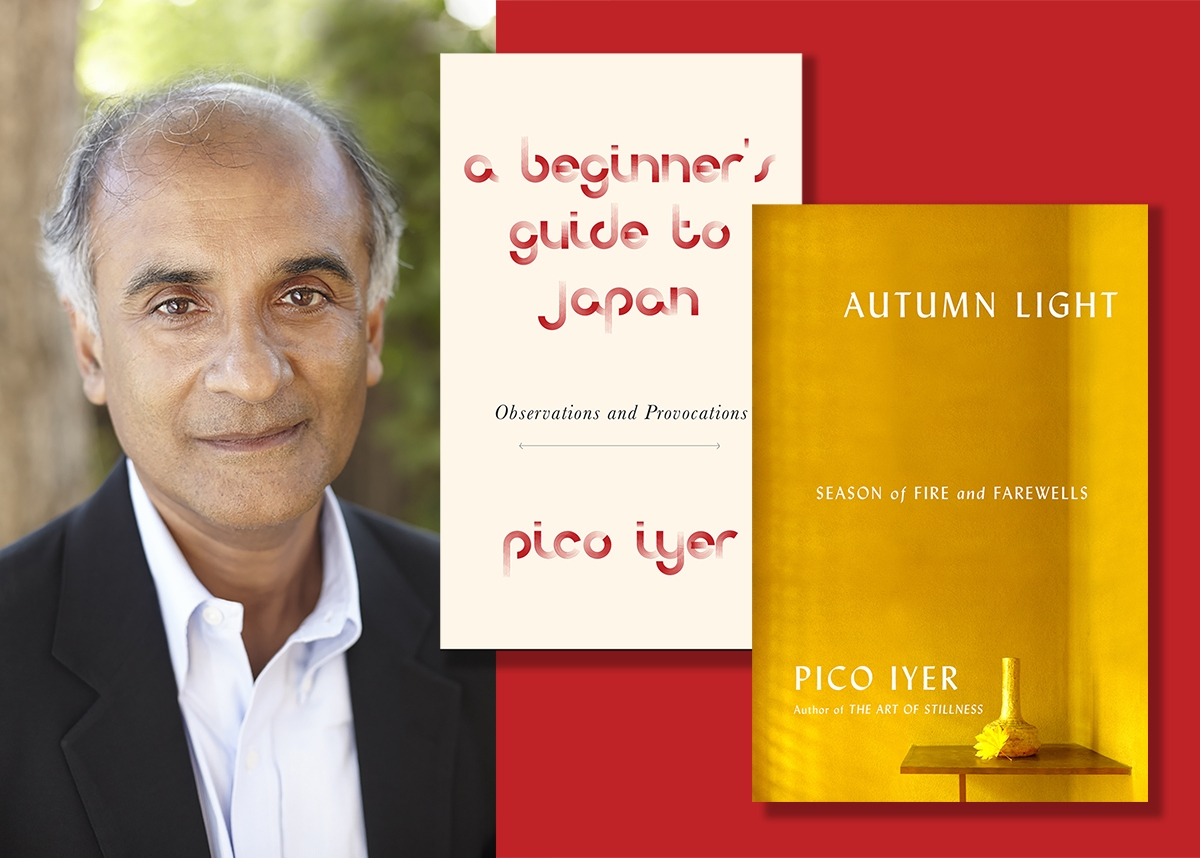 Pico Iyer with A Beginner's Guide to Japan and Autumn Light