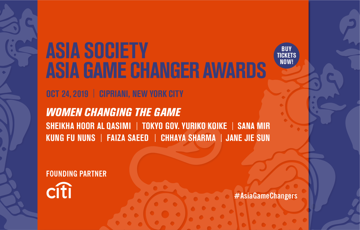 Meet the 2019 Asia Game Changer Award honorees