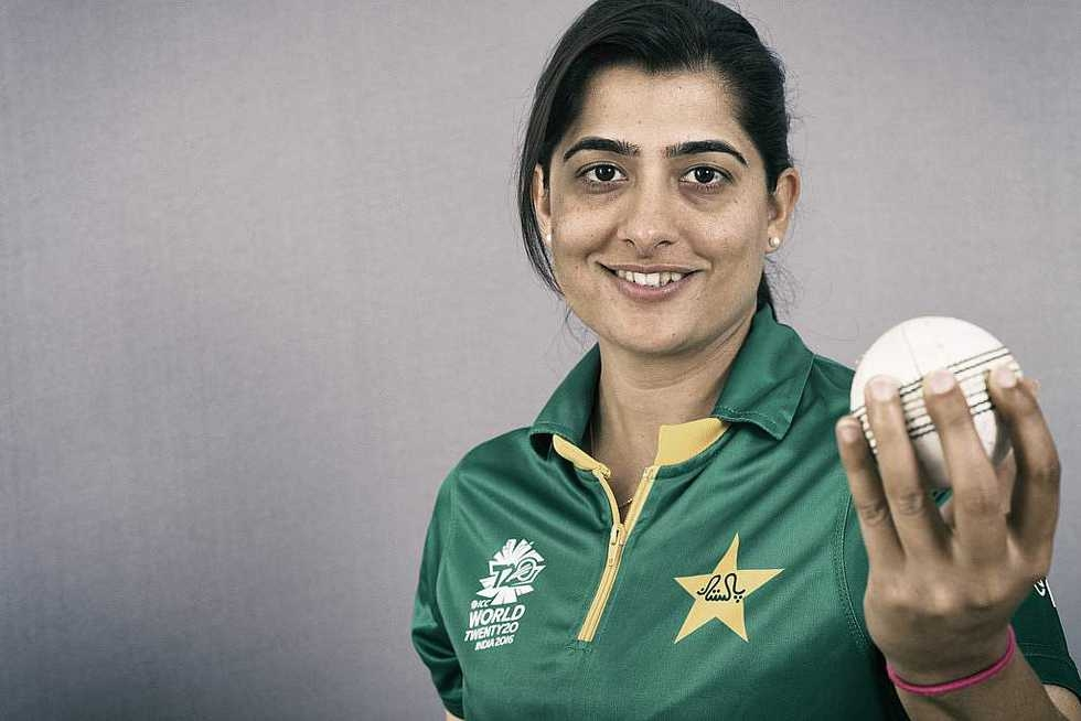 Sana Mir (photo credit: Cricbuzz)