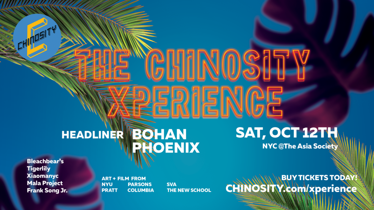 THE CHINOSITY XPERIENCE