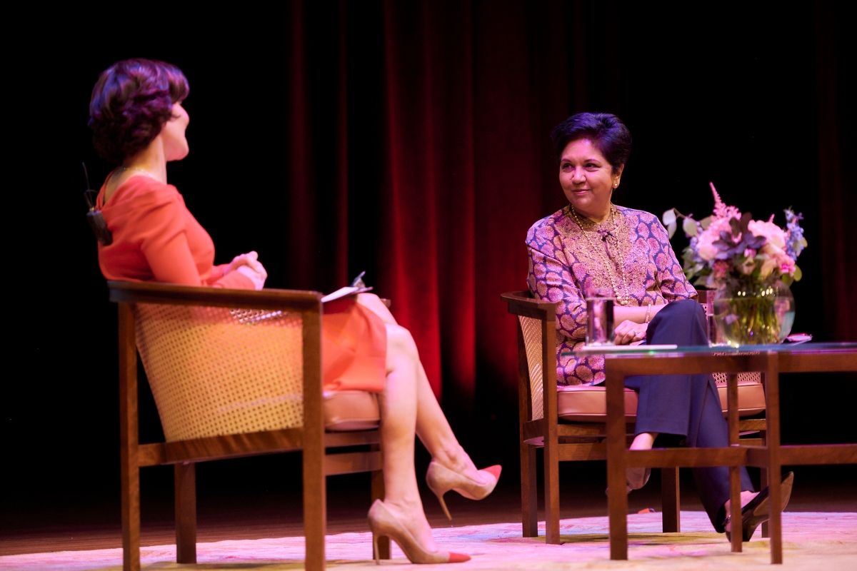 Asia Society Launches the 2019-2020 Bank of America Women's Leadership Series with Former PepsiCo Chairman and CEO Indra Nooyi