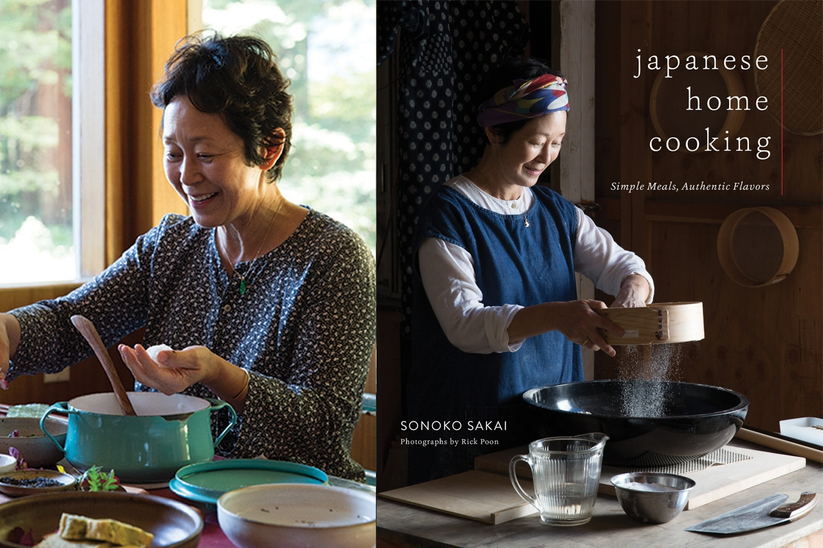 Book Signing- Sonoko Sakai -Japanese Home Cooking