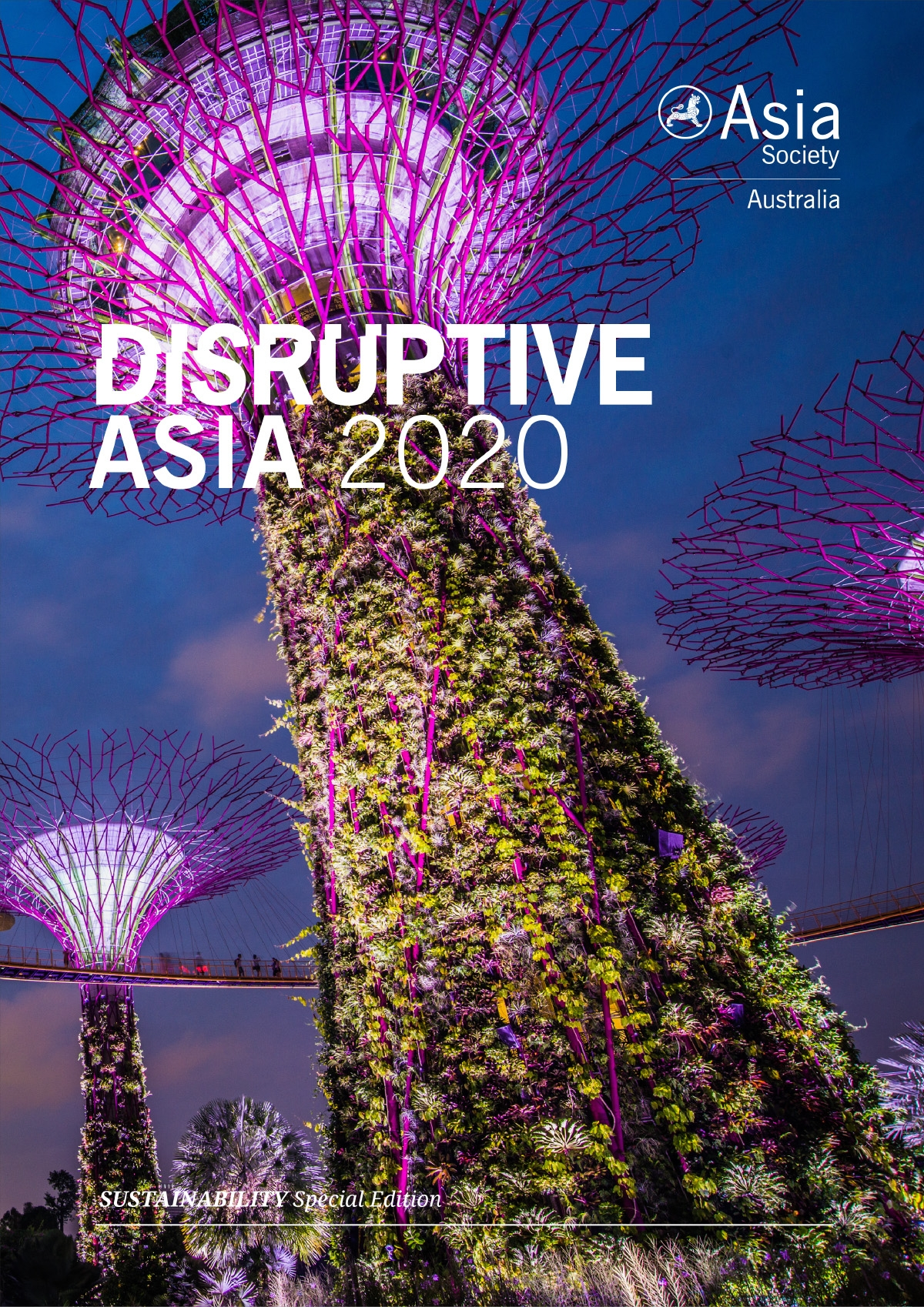 Disruptive Asia Volume Four 2020 Sustainability cover