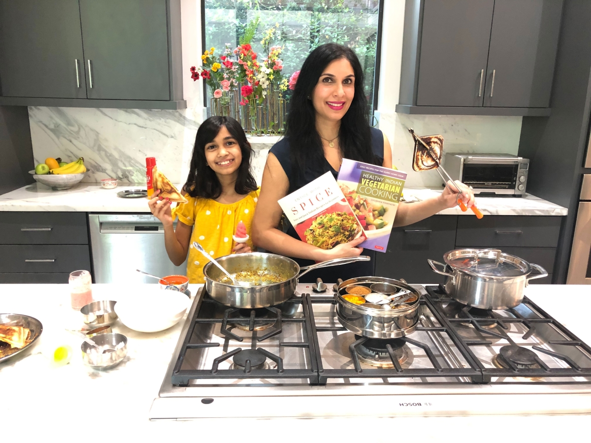 Kids - Let's Cook! with Shubhra Ramineni and Daughter