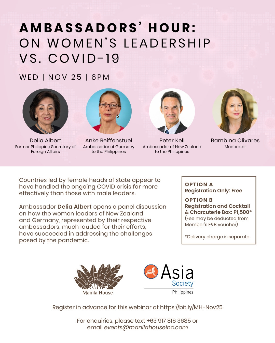 Ambassadors' Hour: Women Leaders and COVID-19