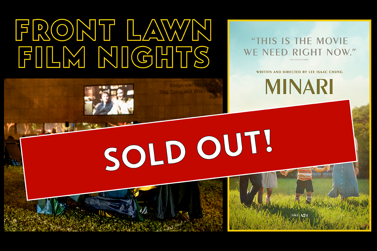 Front Lawn Film Nights Minari Sold Out