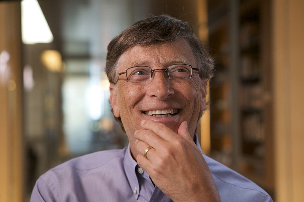 "Bill Gates at the ""Collecting Innovation Today"" interview in June 2009. (OnInnovation/Flickr)"
