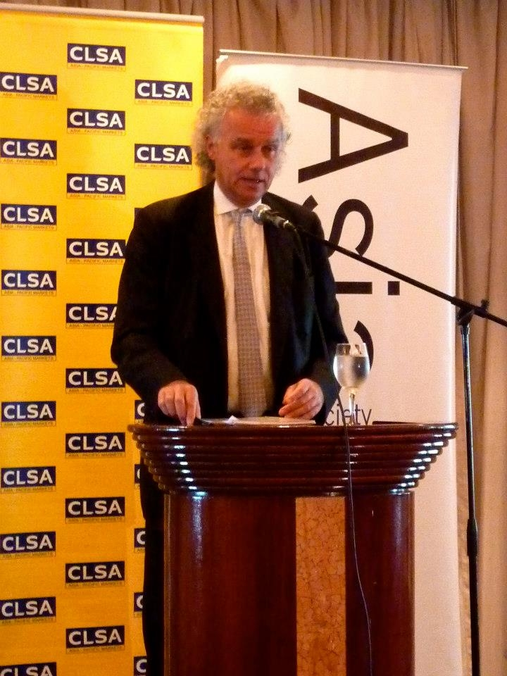 CLSA Equity Strategy Managing Director, Chris Wood