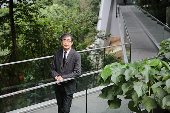 "Fumio Nanjo, Chief Curator of ""Imminent Domain: Designing the Life of Tomorrow,"" visited Asia Society Hong Kong Center in November 2012."