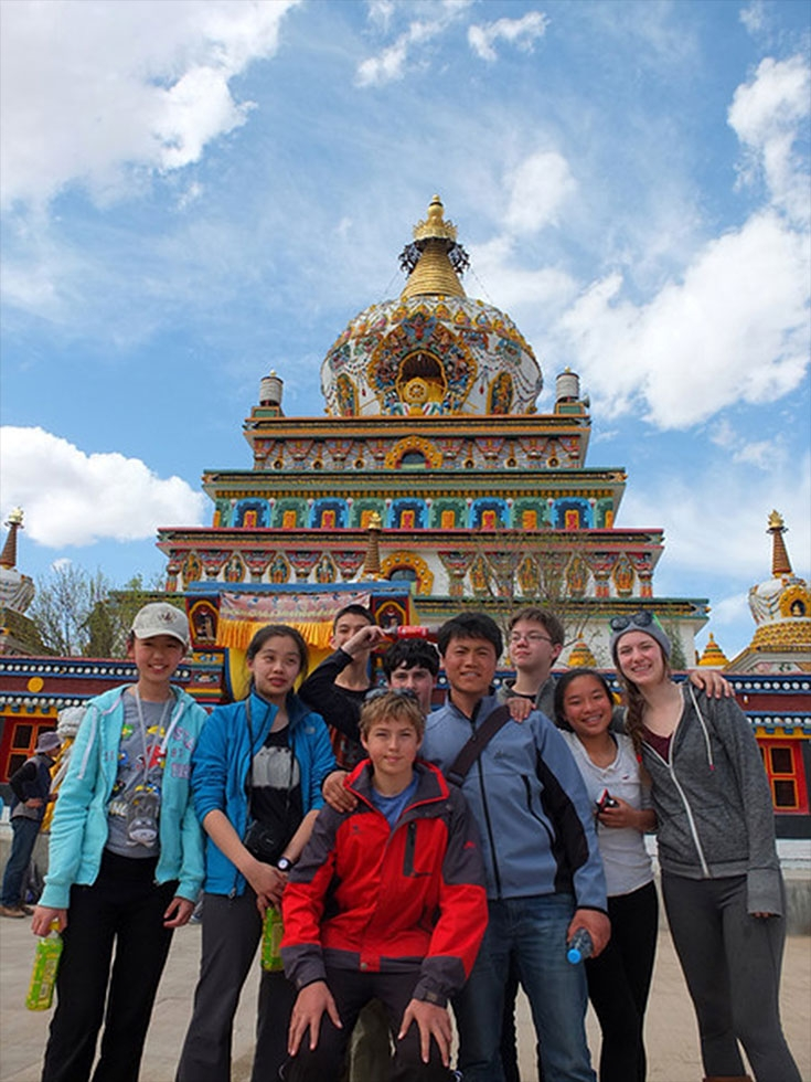 Eighth grade trip to Yunnan. (Chinese American International School)