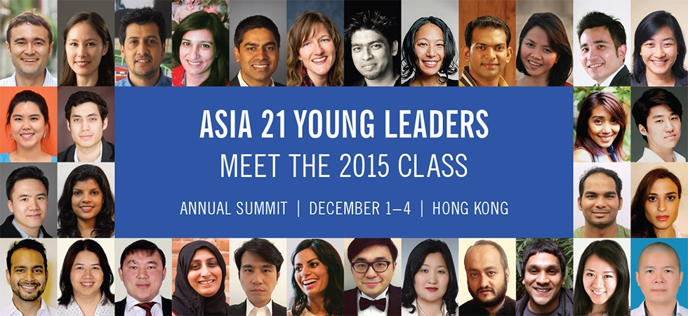 Asia 21 Class of 2015