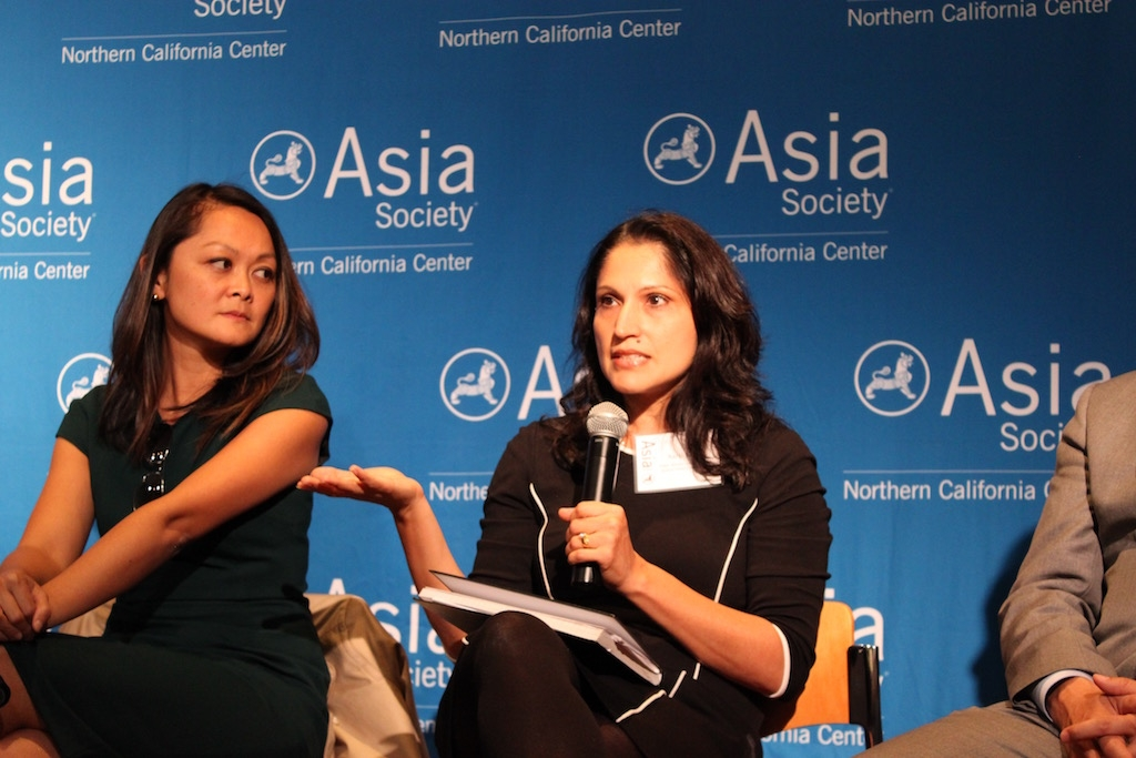 Aarti Kohli (center) represented Asian Americans Advancing Justice-Asian Law Caucus. (Yiwen Zhang/Asia Society)