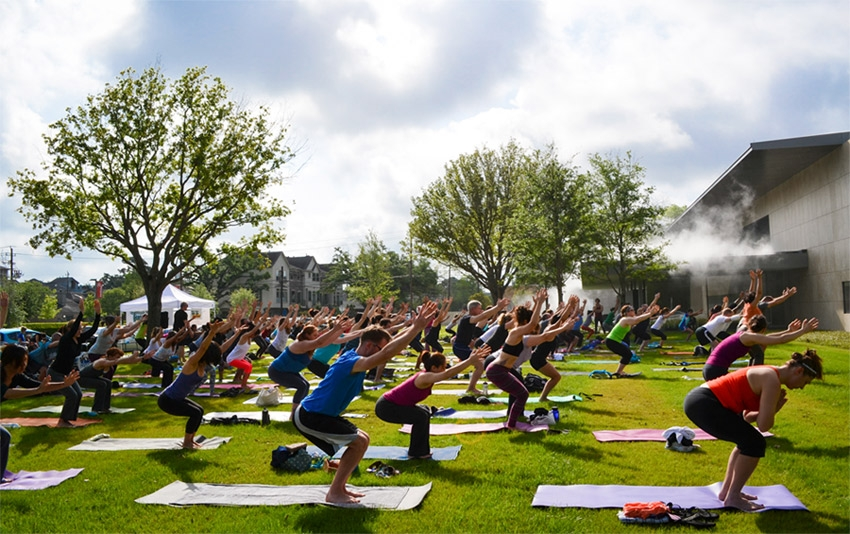 Breakfast Yoga Club Houston Asia Society