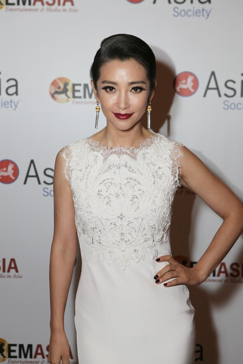 2013 U.S.-China FIlm Summit. Actress Li Bingbing poses during the 2013 Asia Society U.S.-China Film Summit and Gala held at the Millennium Biltmore Hotel on Tuesday, November 5, 2013, in Los Angeles, Calif. (Photo by Ryan Miller/Capture Imaging)