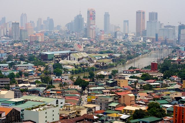 Overhead view of Manila (jsigharas/Flickr)