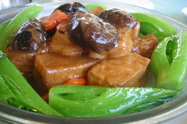 Braised Bean Curd (Photo by mswine/flickr)