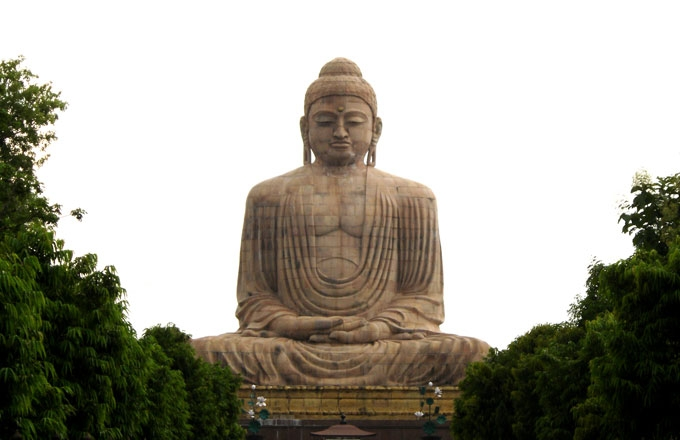 Statue of Buddha in India