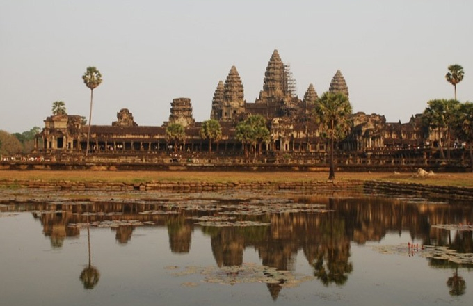 Angkor Wat, Cambodia. (rodliam/flickr)