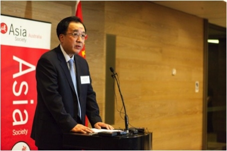 Chinese Ambassador H.E. Mr Chen Yuming