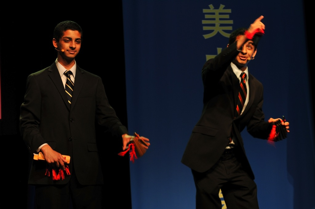 Winners of the International Chinese Bridge Student Competition.