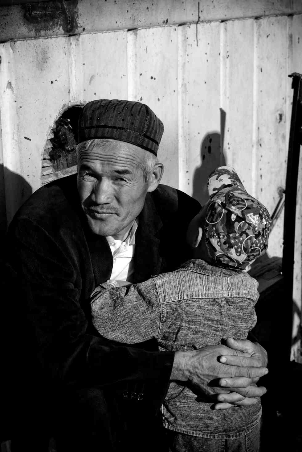 Uzbekistan is unfortunately infamous for its government's human rights violations, but the humanity of individuals remains as strong as anywhere in the world. Achka-Kul Lake, near Urgench, on September 25, 2010. (Tyler Palma)